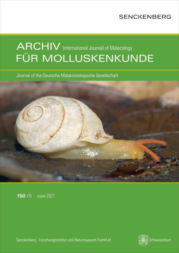Molluskunde Cover
