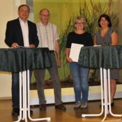 Senckenberg und Förderzentrum Mira Lobe schließen Kooperationsvertrag