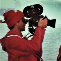 Filmdreh in der Antarktis, 1968