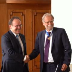 Festakt zur Verabschiedung von Volker Mosbrugger